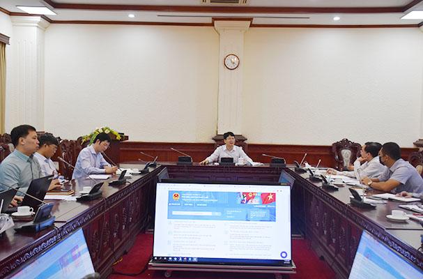 Đẩy mạnh tiến độ thiết lập Cổng Thông tin điện tử quốc gia về Phổ biến, giáo dục pháp luật